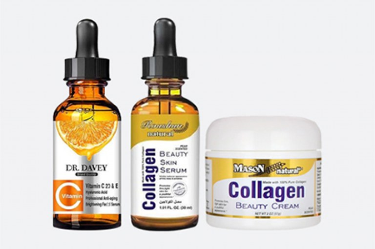 تجارب الكولاجين للشعر